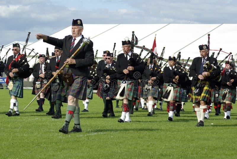 2009 zespołu Edinburgh zgromadzenia drymba zdjęcie stock