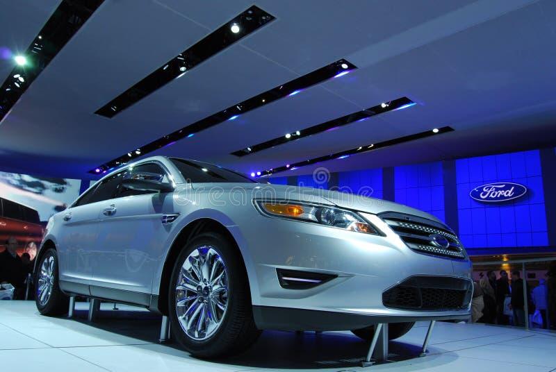 2010个显示Ford Taurus 免版税库存图片