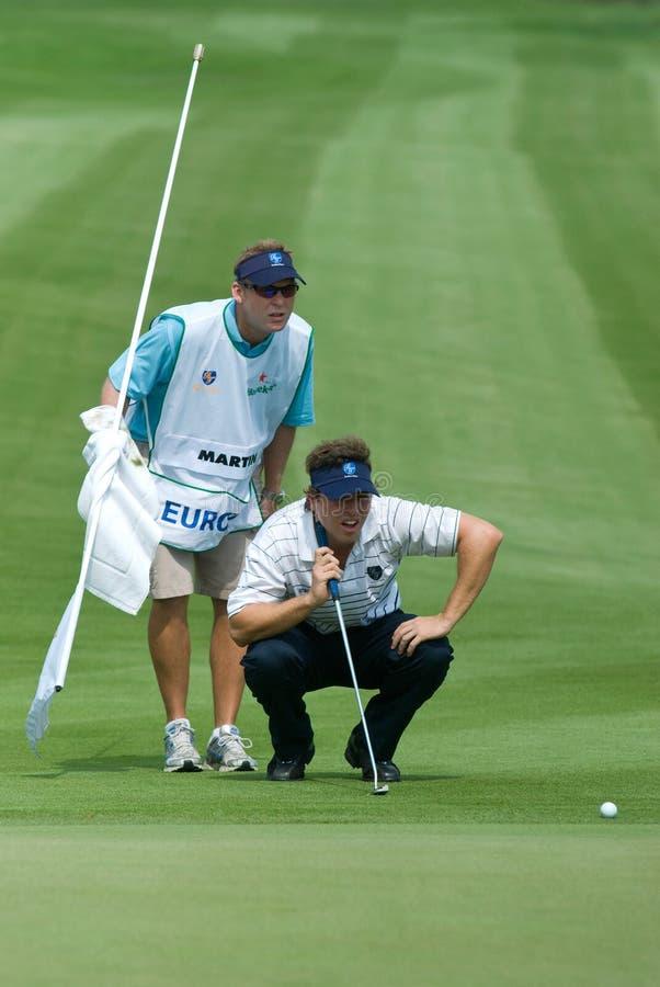 2010亚欧联盟的高尔夫球皇家比赛战利 免版税库存图片