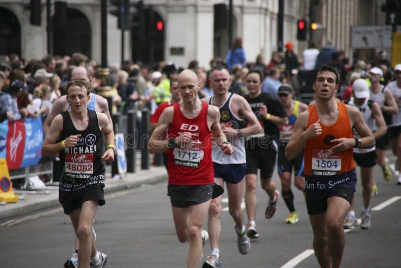 2010年伦敦马拉松 免版税库存图片