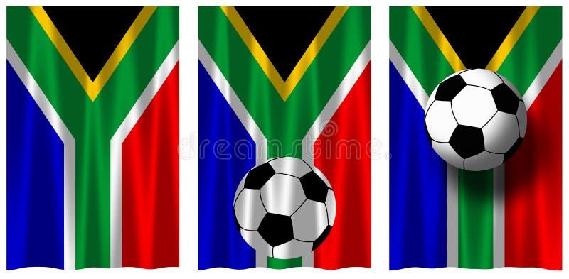 2010年南非洲的足球 库存例证