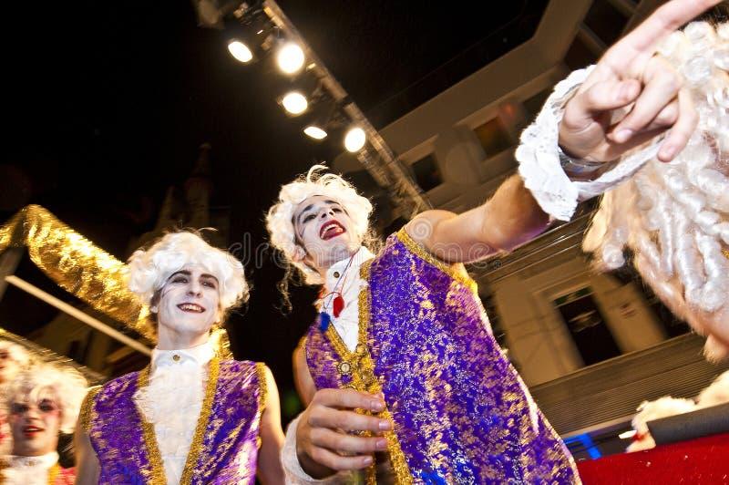 2010年狂欢节sitges 免版税库存照片