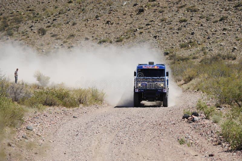 2010年阿根廷智利达喀尔集会 库存照片