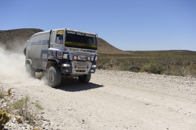 2010年阿根廷智利达喀尔集会 库存图片