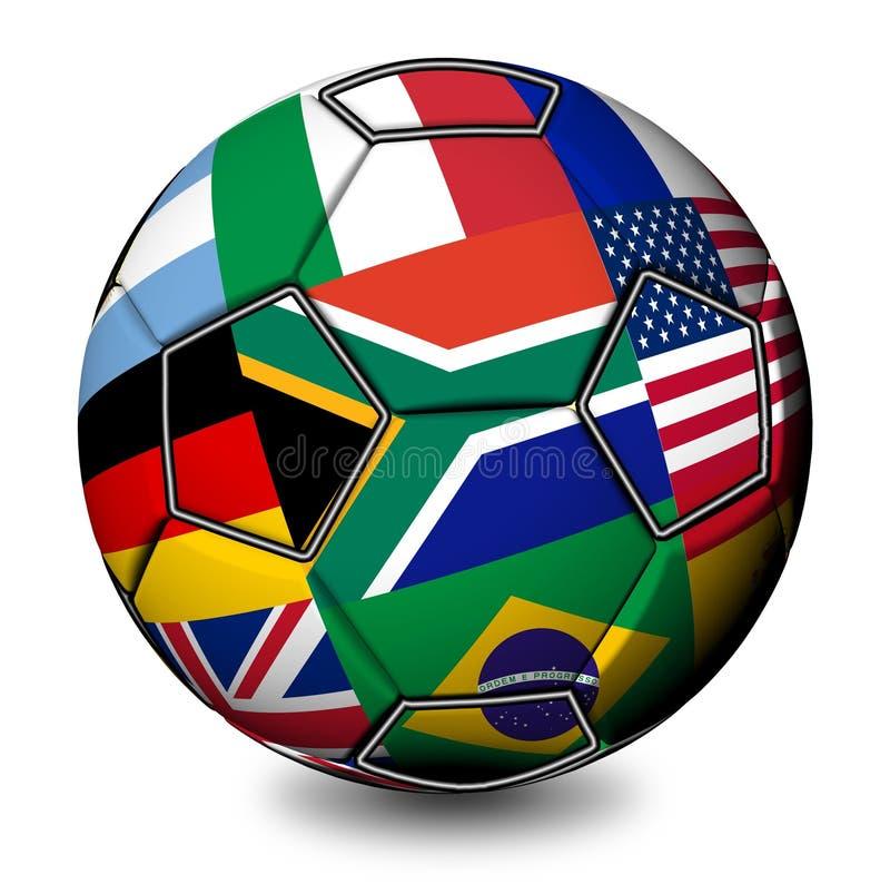 2010年非洲南球的足球