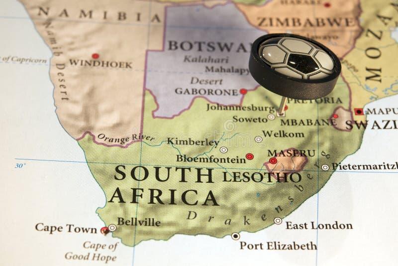 2010年非洲杯子足球南世界 图库摄影