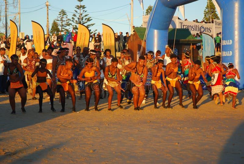 2010年非洲ironman南部 免版税库存照片