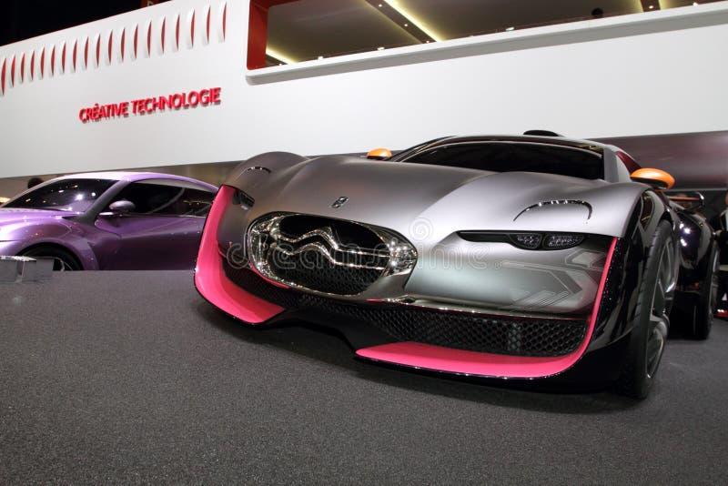 2010年citroen日内瓦汽车展示会survolt 库存图片