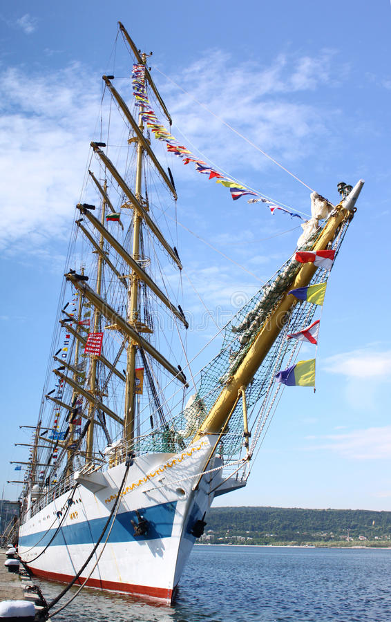 2010 исторических кораблей морей regatta высокорослых стоковое фото rf
