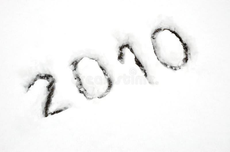 2010 счастливых Новый Год стоковое изображение