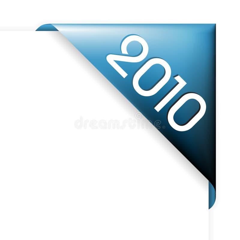 2010 угловойых Новый Год бесплатная иллюстрация