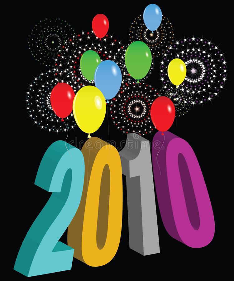 Download 2010 2 stock illustration. Image of celebrate, year, special - 12031083