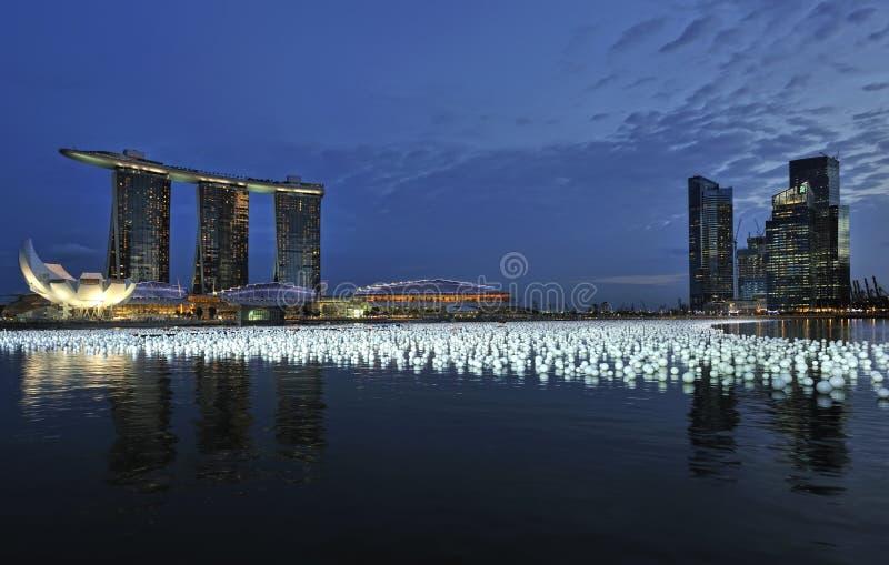 2010 2011 odliczanie Singapore zdjęcie stock
