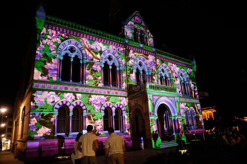 2010 Adelaide festiwal zaświeca północnego obraz stock