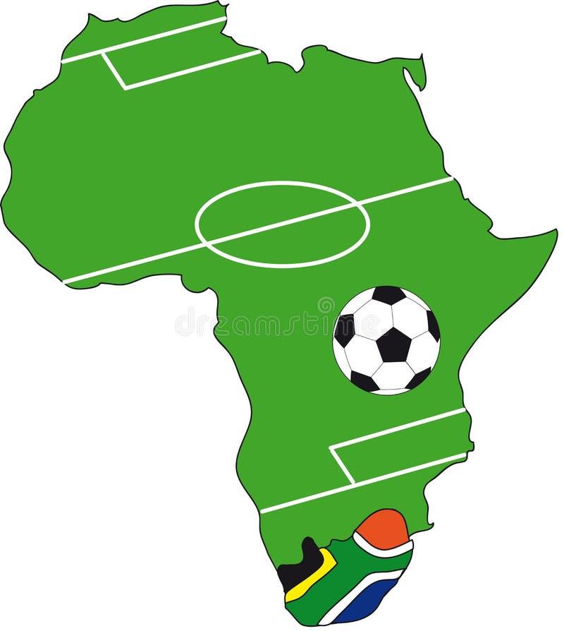 2010 Africa filiżanki południe świat royalty ilustracja