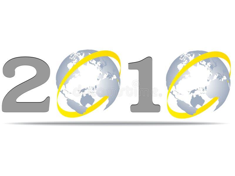 2010 anni royalty illustrazione gratis