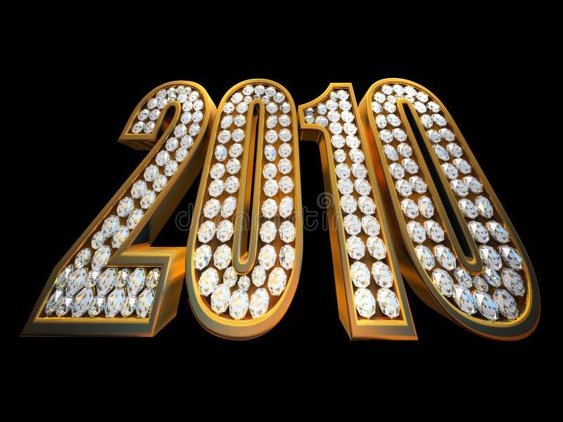 2010 anos moderno ilustração royalty free