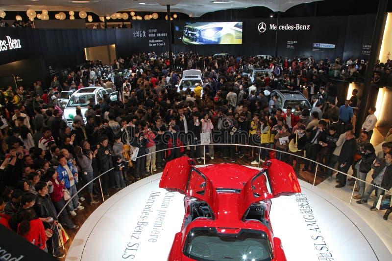 2010 Beijing International Automotive Exhibition royalty free stock images