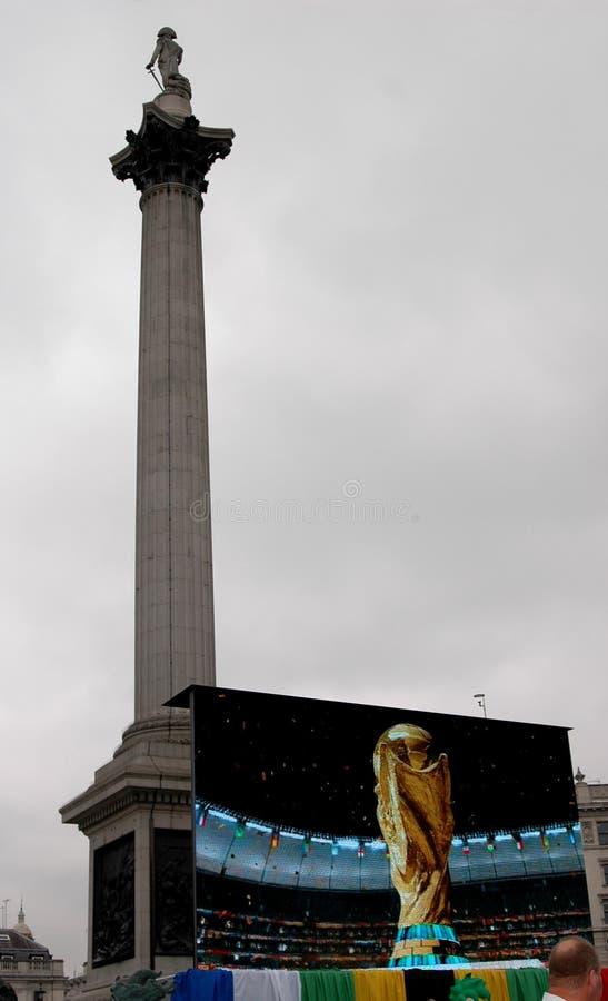 2010 berömfifa fyrkantiga trafalgar royaltyfria foton