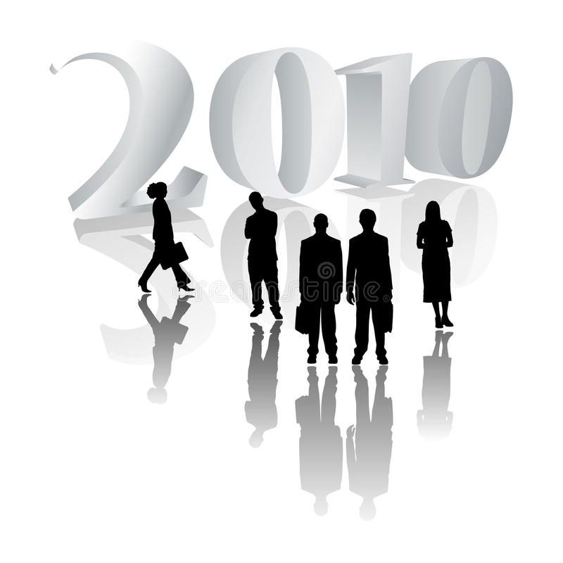 2010 business people stock photo