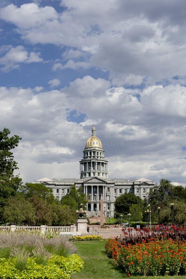 2010 capitol Denver lato fotografia stock