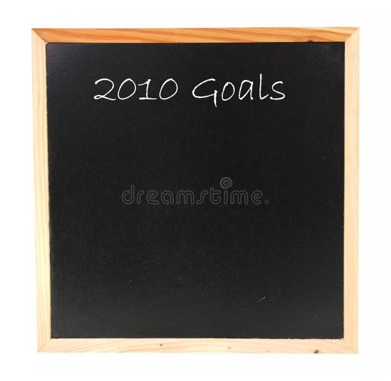 2010 celów zdjęcia stock