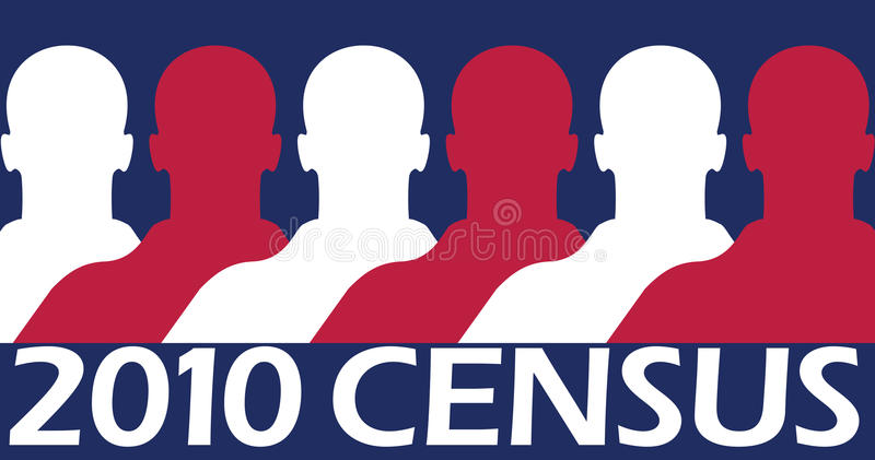 2010 Census Royalty Free Stock Photo
