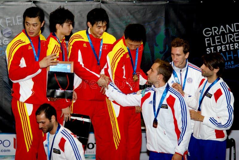 2010 ceremonia wręczenia nagród filiżanki szermierczy świat