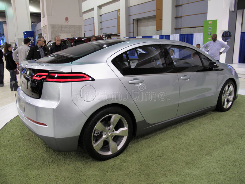 Download 2010 Chevrolet Volt editorial stock photo. Image of editorial - 8105678