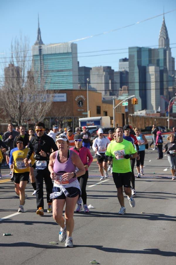 Download 2010 Corredores De Maratona De NYC Foto de Stock Editorial - Imagem de novo, américa: 16863353