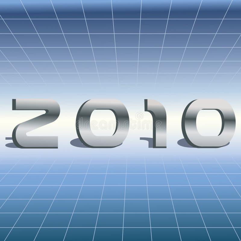 2010 de alta tecnología stock de ilustración
