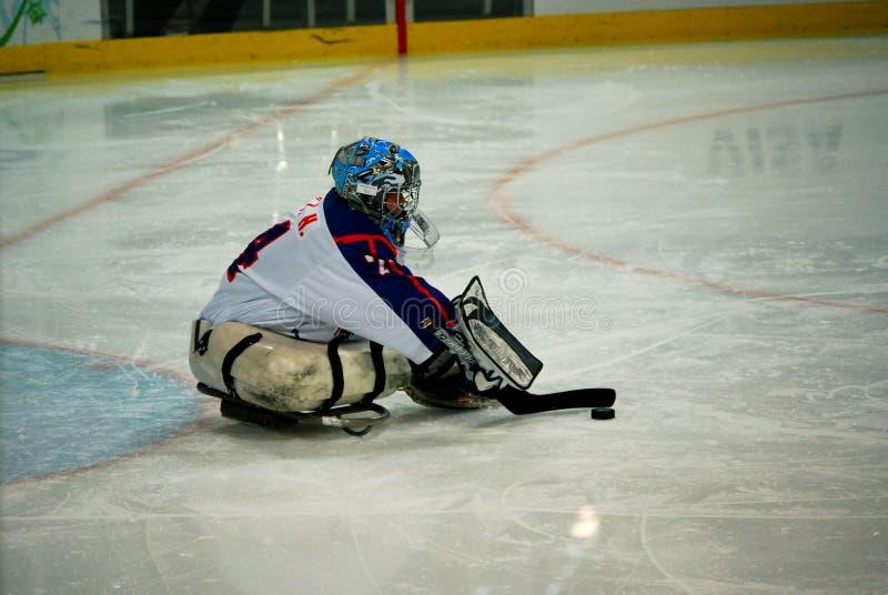 2010 de Spelen van de Winter Paralympic stock foto's