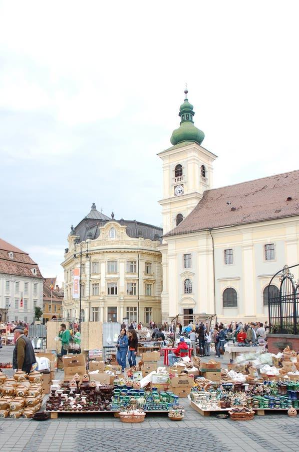 2010 dorocznie targowych ceramicznych Sibiu zdjęcie stock