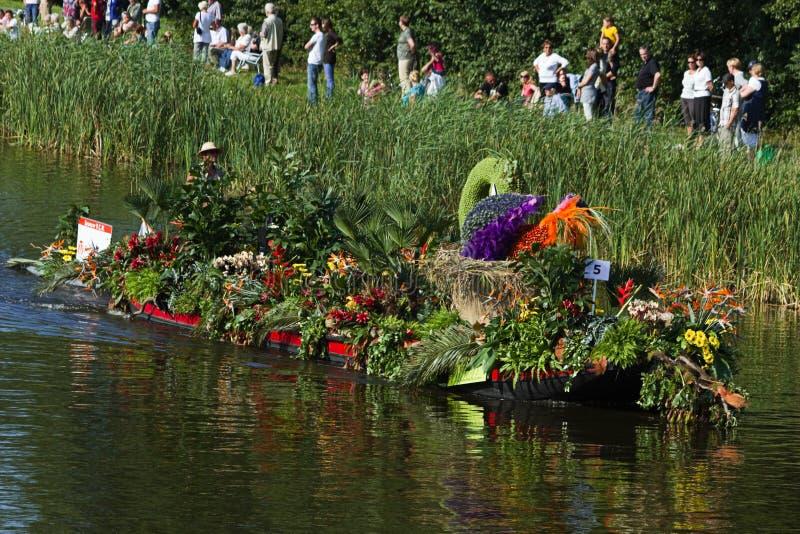 2010 flottörhus blommaNederländerna ståtar westland arkivbild