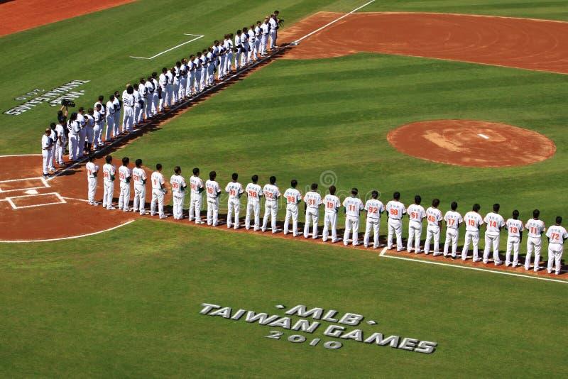 2010 giochi di MLB Taiwan fotografia stock
