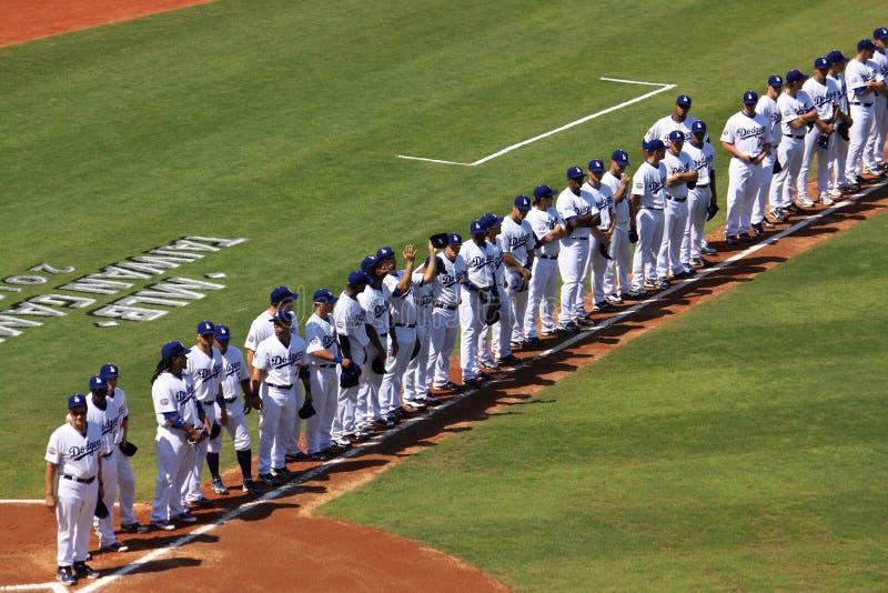 2010 juegos de MLB Taiwán fotos de archivo