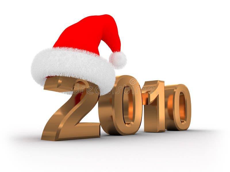 2010 Kerstmis stock illustratie