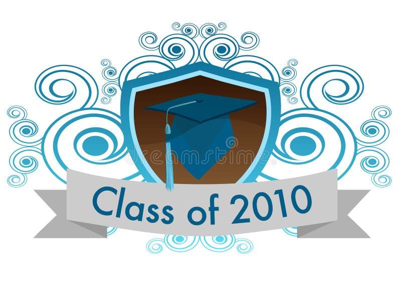 2010 klasa royalty ilustracja