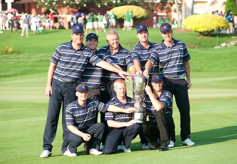 2010 królewskich trofeów obrazy stock