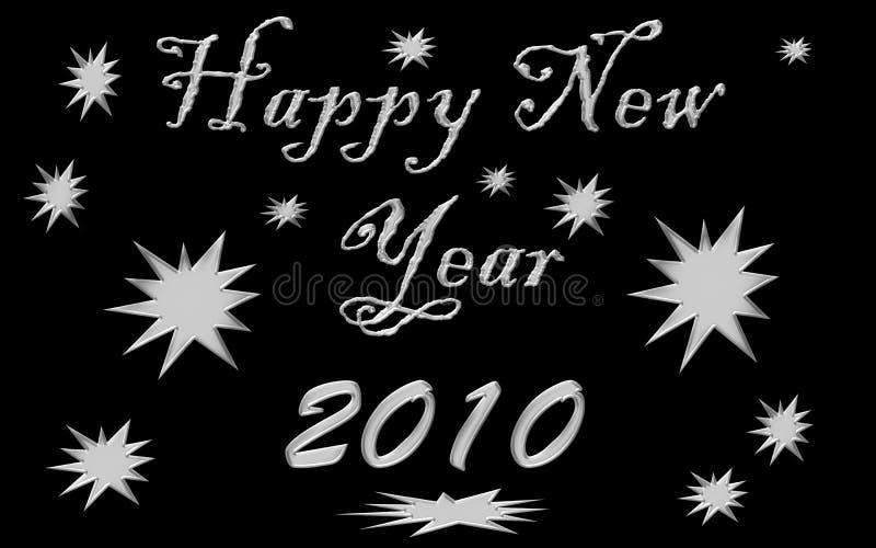 2010 lyckliga nya år arkivbilder