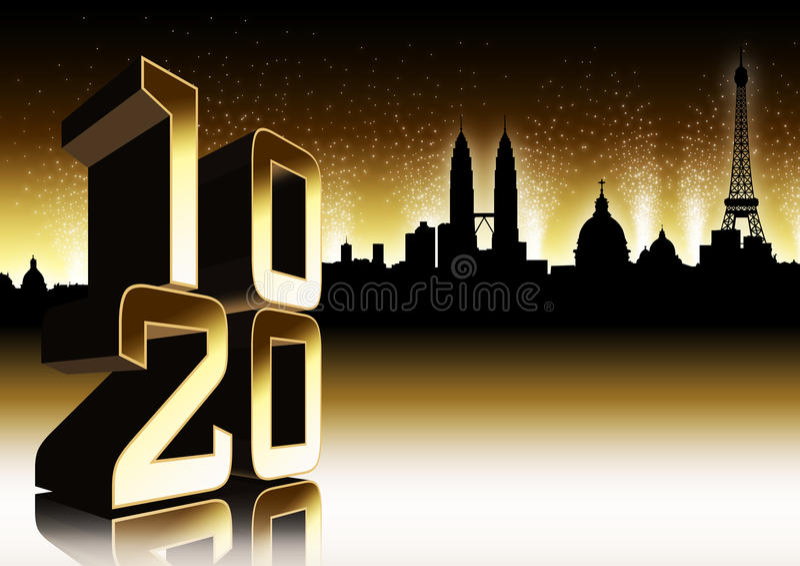 2010 magia royalty ilustracja