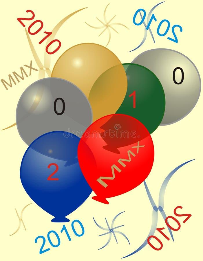 2010 (MMX) Happy New Year