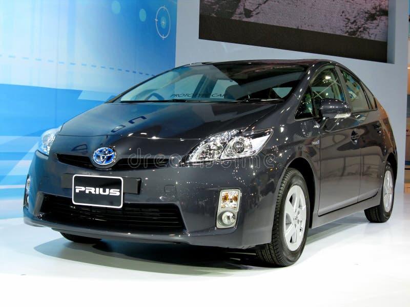 2010 model prius toyota arkivbilder