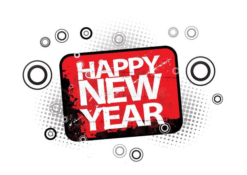 2010 neues Jahr vektor abbildung