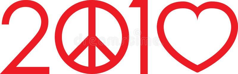 2010 nicht Krieg bilden Liebeszeichen lizenzfreies stockfoto