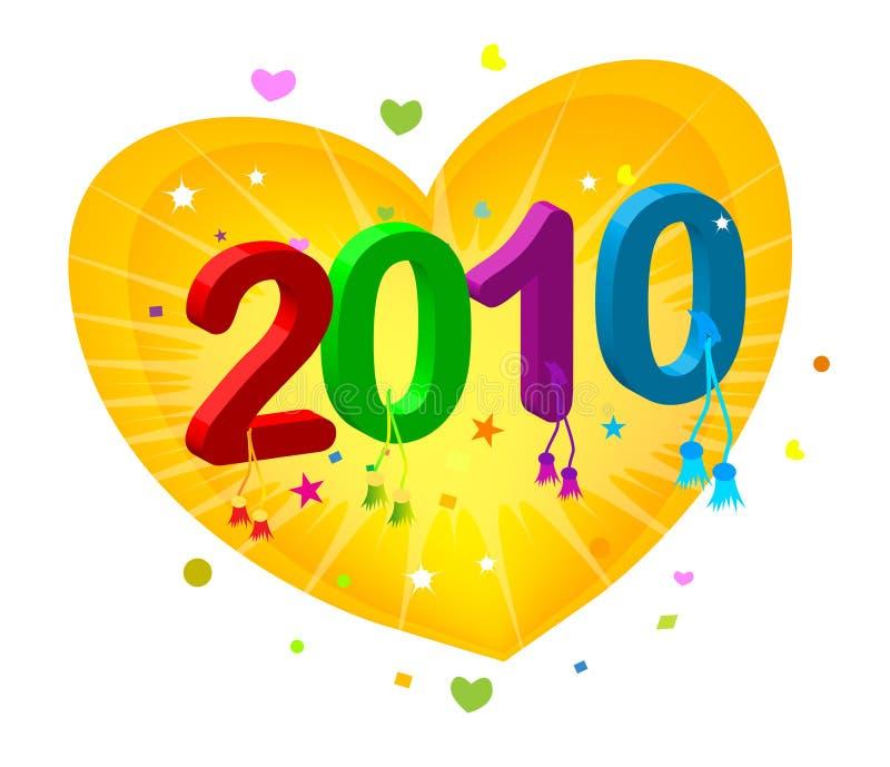 2010 nowy rok ilustracji