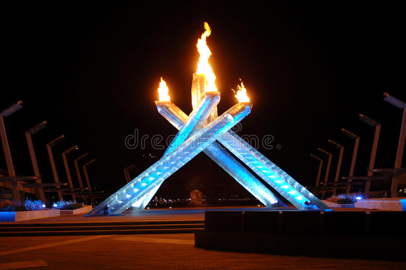 Download 2010 Olympic Cauldron editorial photo. Image of blue - 13082466