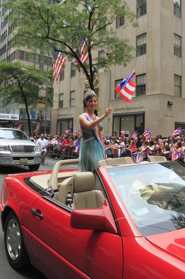 2010 Puertorikaner-Tagesparade stockbilder