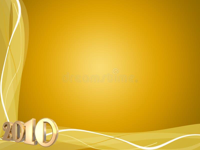 Download 2010 Swirls stock illustration. Illustration of calender - 11228475