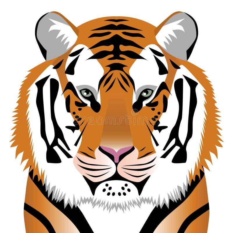 2010 symbolu tygrysa rok royalty ilustracja